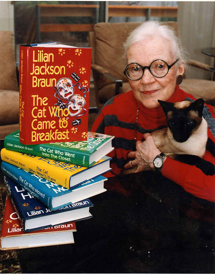 Lilian Jackson Braun - The Cat Who Turned On and Off - 1st/1st 1968 in Jacket