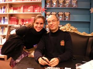 Charlotte Boyer et... Bernard Werber !!!
