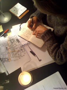 Tatiana de Rosnay écrivant Rose