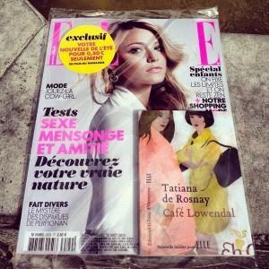 Couverture Elle Magazine
